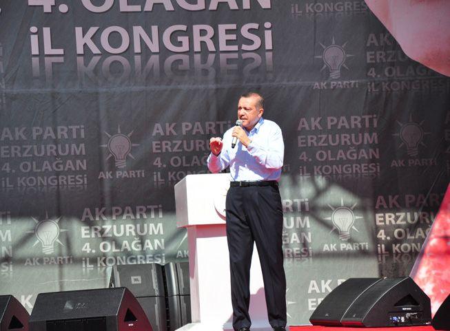 Başbakan Erdoğan Erzurum'da konuştu