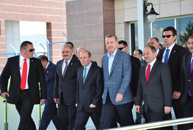 Başbakan Erdoğan Erzurum'da