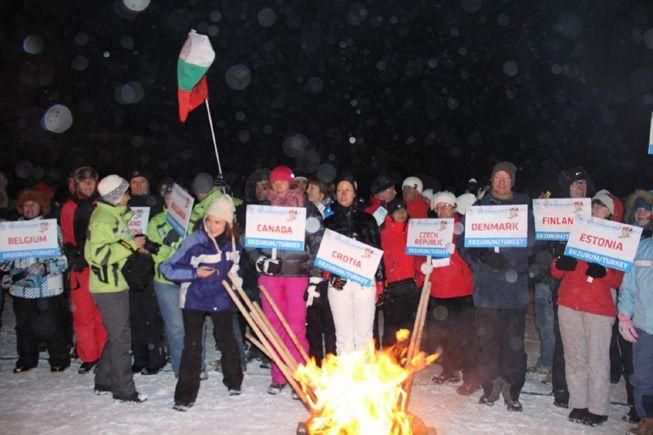 Kayaksever gazeteciler Erzurum'da