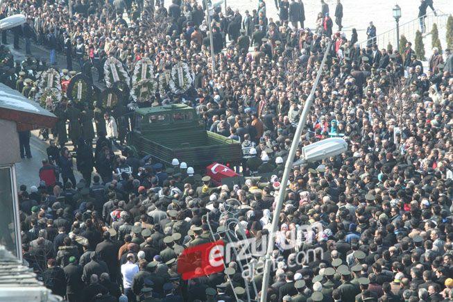 Erzurum Kabil Şehidini uğurladı