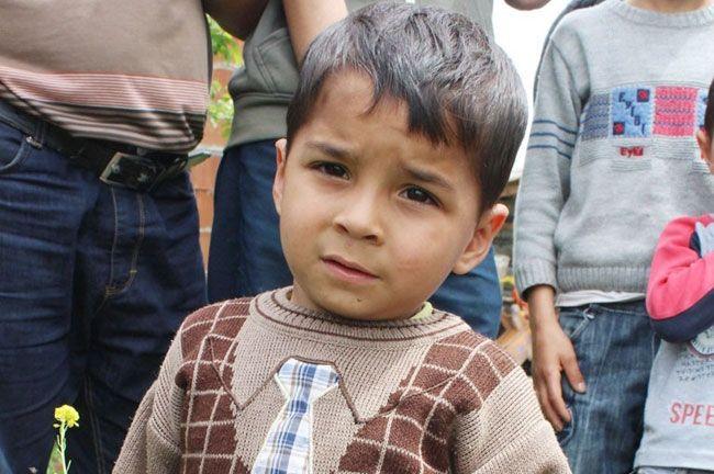 Şehit madencinin dört yaşındaki yadigarı