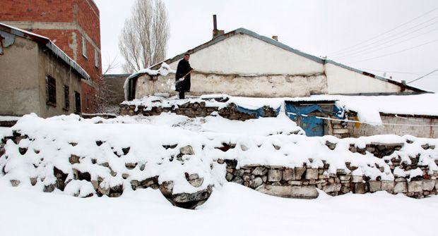 Erzurum'da Mart kapıdan baktırdı
