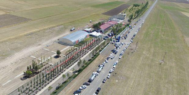 ÇETAŞ fidan üretim merkezi açıldı