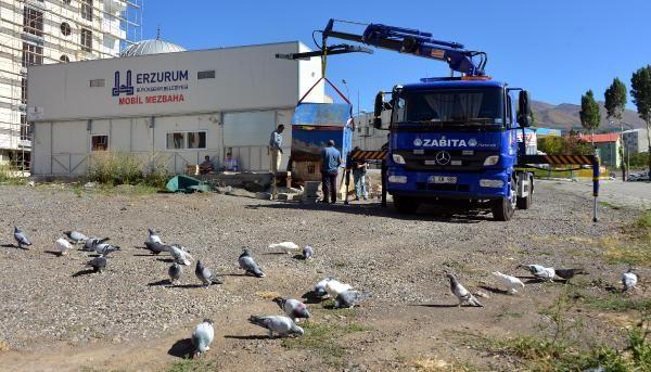 Erzurum'da zabıta kuş uçurtmadı