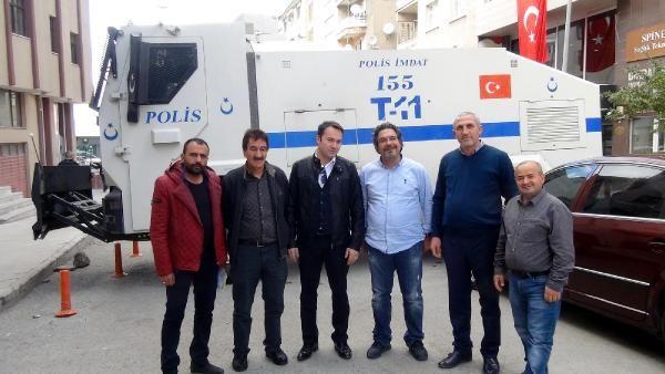 Erzurum'da Caddeyi TOMA kesti, esnaf 'iflasın eşiğindeyiz' diyor