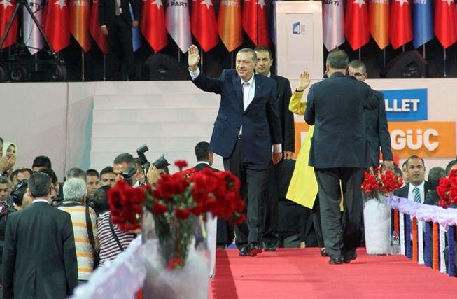 AK Parti kongresi'nden kareler