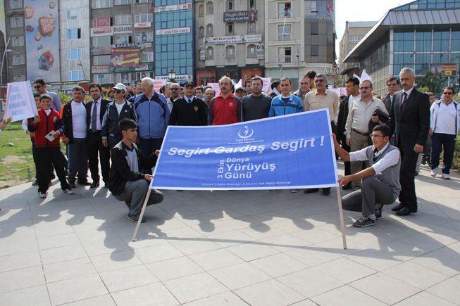 3-4 Ekim dünya yürüyüş günü