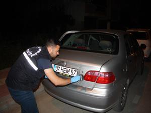 Antalya'da turistlerin hırsızlık tezgahını polis bozdu