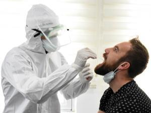 B.B. Erzurumspor'a koronavirüs testi yapıldı