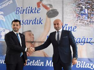 B.B. Erzurumspor'da Muzaffer Bilazer dönemi