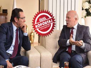 Başkan Mehmet Sekmen'den Erzurumajans'a özel açıklamalar