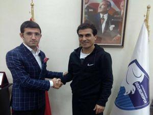 BB Erzurumspor Sportif Direktörü Zafer Demir, oldu