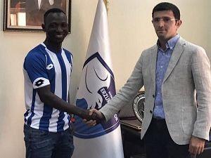 Boubacar Mansaly BB Erzurumspor'da