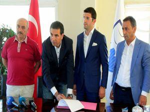 BB Erzurumspor'da Özköylü dönemi resmen başladı