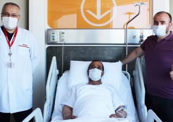 Robotik cerrahi ile kanserden kurtuldu
